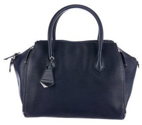 Rebecca Minkoff Embossed Perry Satchel - BLUE - STYLE