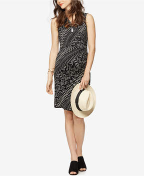 Collective Concepts Maternity Printed Wrap Dress