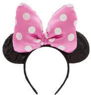 Disney Minnie Mouse Ear Headband for Kids - Pink