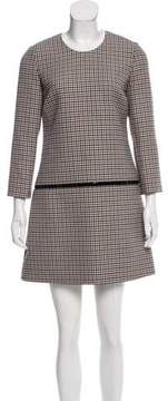 Bouchra Jarrar Gingham Mini Dress