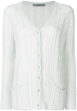 Ermanno Scervino embroidered button-down cardigan