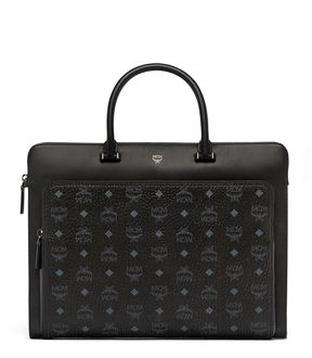 MCM Ottomar Briefcase In Visetos