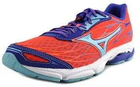 Mizuno Wave Catalyst Round Toe Synthetic Running Shoe.