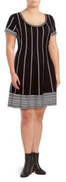 Alexia Admor Short-Sleeve Sweater Dress