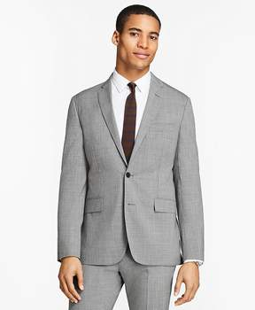Brooks Brothers Tick-Weave Wool Suit Jacket