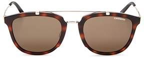 Carrera Mixed Media Retro Square Sunglasses, 50mm