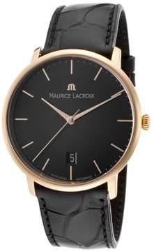 Maurice Lacroix Les Classiques LC6007-PG101-330 18K Rose Gold 38mm Mens Watch