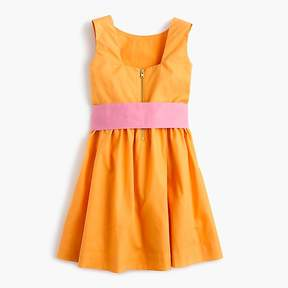 J.Crew Girls' colorblock dress with ties