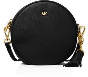 MICHAEL Michael Kors Medium Leather Circle Crossbody