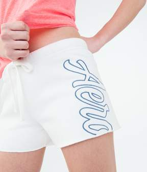Aeropostale Aero Logo Fleece Shorts