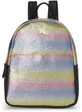 Betsey Johnson Luv Betsey By Dana Rainbow Shimmer Backpack