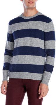Qi Rugby Stripe Cashmere Sweater