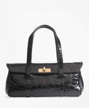 Brooks Brothers Alligator Mini Satchel