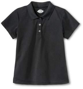 Dickies Little Girls' Performance Polo - Black