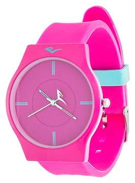 Everlast Ladies' Soft Touch Rubber Strap Watch - Pink