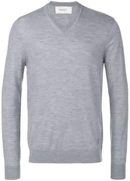 Pringle knitted V-neck sweater