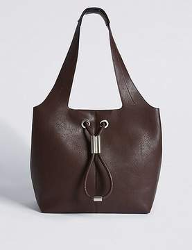 Marks and Spencer Faux Leather Hobo Bag