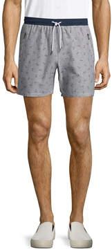 Parke & Ronen Men's Striped Cotton Lounge Shorts