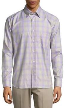 Robert Talbott Casual Checked Long-Sleeve Sportshirt