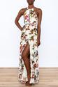 luxxel Garden Wrap Maxi Dress