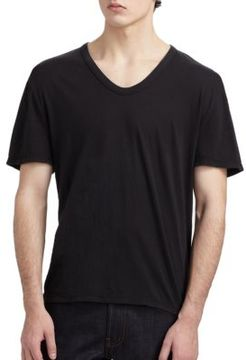 Alexander Wang Basic Low-Neck Tee