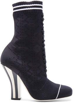 Fendi Knit Booties