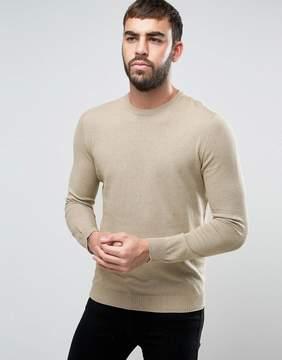 Benetton Marl Sweater in 100% Cotton