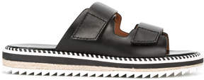 Givenchy whipstitch detail slip-on sandals