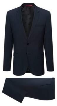 HUGO Boss Italian Wool Suit, Extra-Slim Fit Arti/Hesten 40S Dark Blue