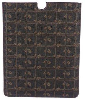 Dolce & Gabbana Letaher 'Leaf' Print iPad Case