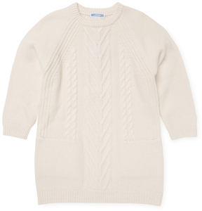 Jacadi Ribbed Wool Dress