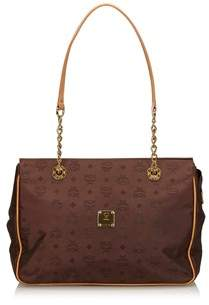 MCM Pre-owned: Visetos Chain Tote Bag.