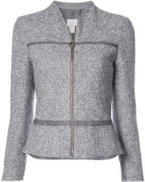 Agnona cropped zip jacket