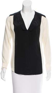 Brochu Walker Silk Long Sleeve Top