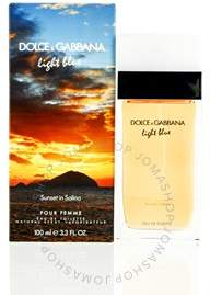 Dolce & Gabbana Light Blue Sunset In Salina EDT Spray 3.3 oz (100 ml) (w)