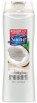 Suave Essentials Body Wash Creamy Tropical Coconut