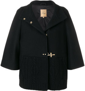 Fay cropped sleeves coat