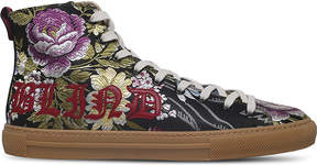 Gucci Major Blind floral-jacquard trainers