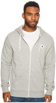 Converse Core Fleece Full Zip Hoodie Men's Sweatshirt