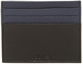 Calvin Klein Smooth 2-Tone Leather Card Case