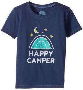 Life is Good Happy Camper Crusher Tee Boy's T Shirt