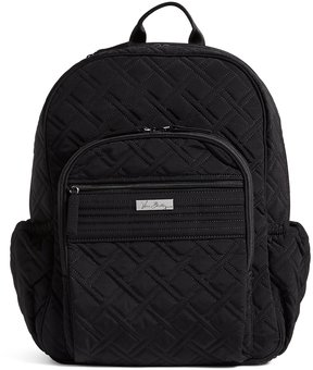 Vera Bradley Campus Laptop Backpack - CLASSIC BLACK - STYLE