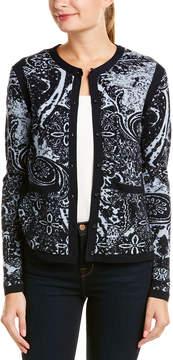 Basler Wool-Blend Cardigan
