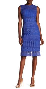 ABS by Allen Schwartz Collection Embroidered Lace Dress