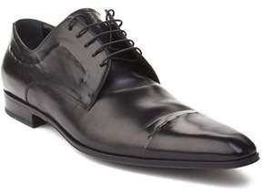 Dolce & Gabbana Men's Leather Oxford Dress Shoes Black.