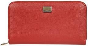 Dolce & Gabbana Zip Around Wallet - ROSSO - STYLE