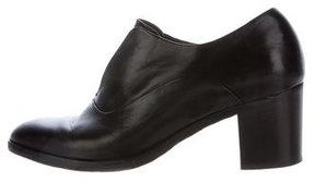 Reed Krakoff Leather Round-Toe Booties