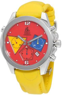 Jacob & co Jacob and Co. Chronograph Red Dial Automatic Men's Watch