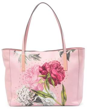 Ted Baker Peonina Palace Gardens Large Leather Tote Bag