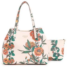 GUESS Vikky Floral Tote Set